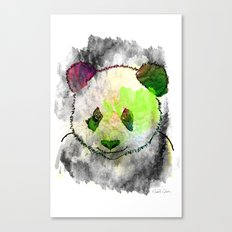 Marshmallow Panda Syndrome Canvas Print