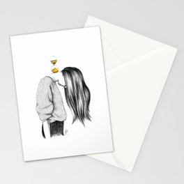 Weight of Time Stationery Cards