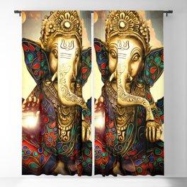 Ganesha Blackout Curtain