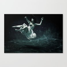 abyss of the disheartened : III Canvas Print