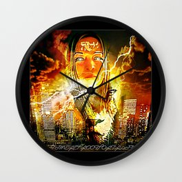 Storm Candy 01 Wall Clock