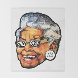 Maya Angelou Throw Blanket