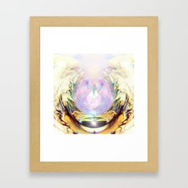 Emerging from the Pines Framed Art Print