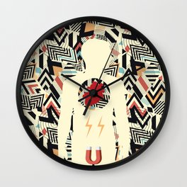 Magnet Inside You Wall Clock