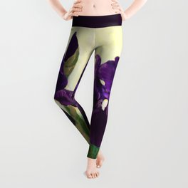 Purple Iris DP150530 Leggings