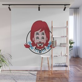 Bearded Mutant Wendy Wall Mural