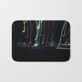 Neon Lights Bath Mat