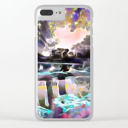 Reflections of Love Clear iPhone Case
