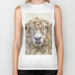 Longwool Sheep Biker Tank