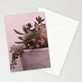 My Succulent Garden Pink Stationery Cards