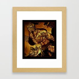 Scorpion Midas Framed Art Print