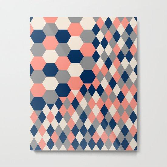 Honeycomb 2 Metal Print