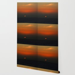cloudy sunset seascape Wallpaper