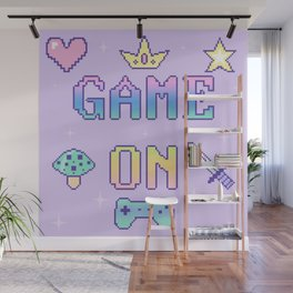 Game On (pastel) Wall Mural
