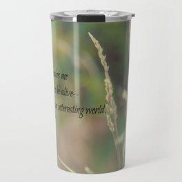 Interesting World Anne Green Gables Travel Mug