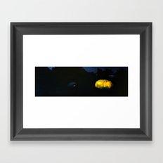 Camp Lights I Framed Art Print