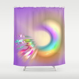 creative love Shower Curtain