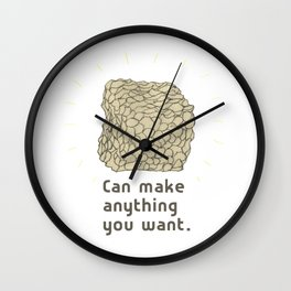 Potential Clay Wall Clock