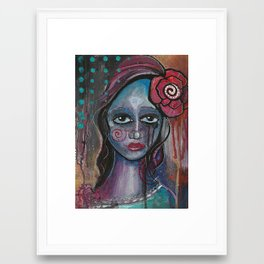 Deya Framed Art Print