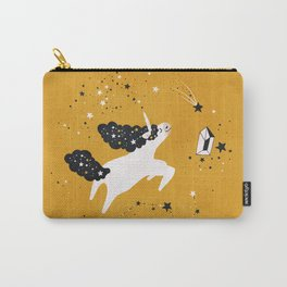 Stellar Unicorn with Stars Carry-All Pouch