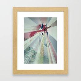 Embrace Your Inner Unicorn Framed Art Print