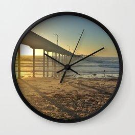 Ocean Beach Pier Wall Clock