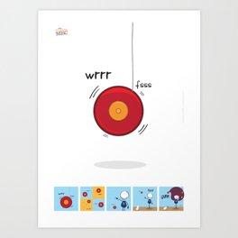 Trick Art Print