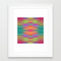 hippy Framed Art Prints featuring Hippy 2 by HK Chik
