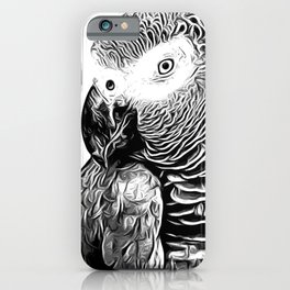 African Parrot iPhone Case