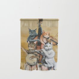 Cat Quartet Wall Hanging