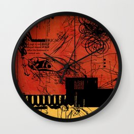 ANALOG ZINE / BETTER GIT IT IN YOUR SOUL Wall Clock