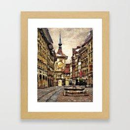 Berne Street Framed Art Print
