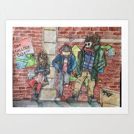 Backalley Art Print