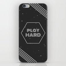 Play Hard iPhone & iPod Skin
