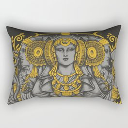 IBERIAN HECATE gray Rectangular Pillow
