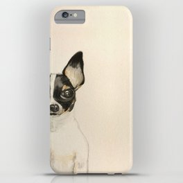 Chihuahua - the tiny dog iPhone Case