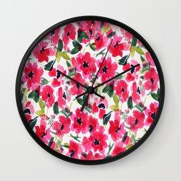 Garden of Chrisafia Wall Clock