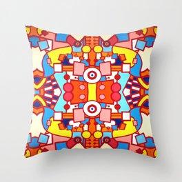 Le Lapin et Les Lunettes Throw Pillow