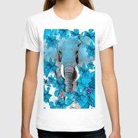elephant T-shirts featuring Elephant  by Saundra Myles