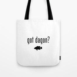 Lovecraft Print Necronomicon Dagon Innsmouth Tote Bag