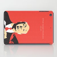 hitchcock iPad Cases featuring Hitchcock by berg with ice