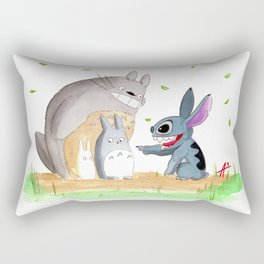 Ohana Means Family Rectangular Pillow