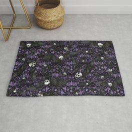Skelebats - Royal Purple Rug