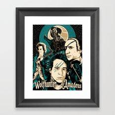 Wolfhunter Amadeus Framed Art Print