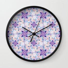 Jess Abstract Painting Wall Clock