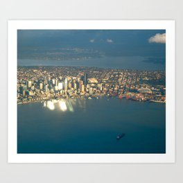 Seattle #4 Art Print