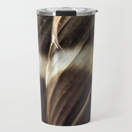 Barred Owl Feathers Travel Mug