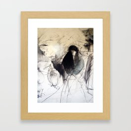 Silly Bird Framed Art Print