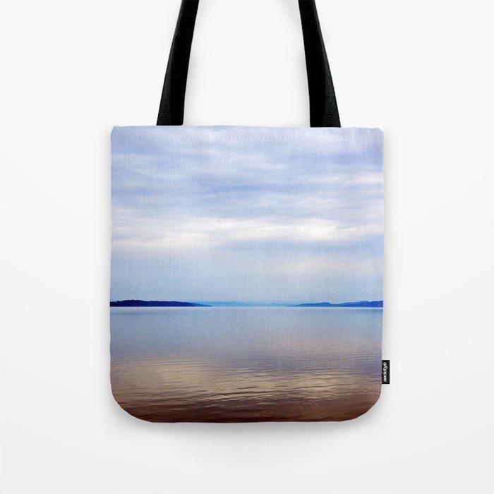 Matapedia River Mouth Tote Bag