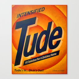 Intensified Tude Canvas Print